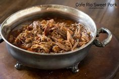 Cafe Rio Copycat Sweet Pork | This pork will have the whole family talking!