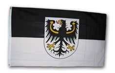 East Prussia - 3' x 5' Polyester Flag by flagline. $13.39. 100% Polyester. Size: 3' x 5'. These historic flags are created with exacting detail and screen-printed onto 100% polyester.