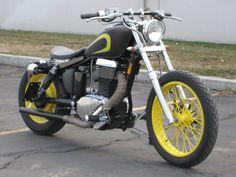 Destino Custom Garage, Custom motorcycles and parts - Suzuki S40 Savage bobber parts