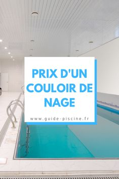 Couloir de nage : quel est le prix de cette piscine ? #piscine #couloir #nage #jardin #terrasse Guide, Cinema, Table, Rolling Shutter, How To Build, Plunge Pool, Terrace, Movies