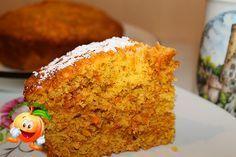 Диетический морковный кекс (диетический морковный торт)