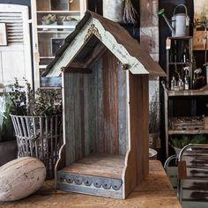 Repurposed Garden Altar