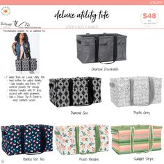 Available March 1st – August 31st, while supplies last. Trina Lovegren, Thirty-One Consultant www.trinalovegren.com Thirty One Consultant, Utility Tote, March 1st, Thirty One Gifts, Purses, Wallet, Spring, Ideas, Handbags