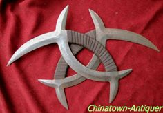 The dragon tattoo mandarin duck tomahawk。 -- -- Chinese  weapon