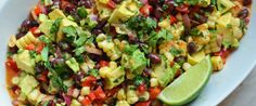 With black beans, sweet corn, crisp bell peppers and creamy avocado, this is one of those crowd-pleasing, make-ahead recipes that everyone loves.