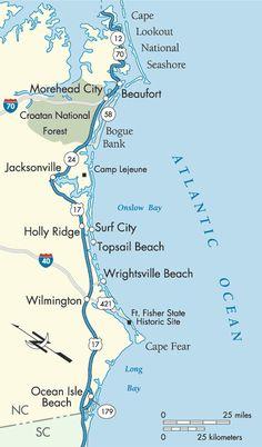 Coast Of South Carolina Map.Sc Beaches Map Of South Carolina Beaches South Carolina Coast