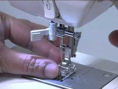 SINGER Sewing Machine 9960 - Intro. Thread machine, wind bobbin.