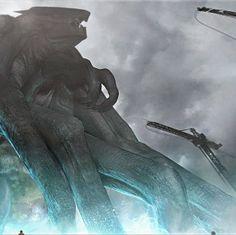 Godzilla Concept Arts | CG Daily news