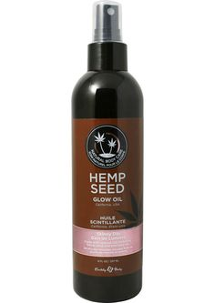 Glow Oil With Hemp Seed Skinny Dip 8 Ounce Spray