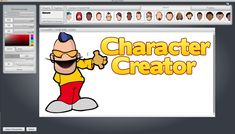 Pin by mary grace on cartoon characters creator software pinterest now there an easy way to create your own character laughingbird softwares the character creator is awesome reheart Images
