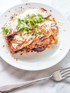 This Slow Cooker Eggplant Lasagna is easy, quick to prepare and healthy- tons of veggies and very low carb with a great meaty, cheesy taste our family loves Fun Easy Recipes, Rib Recipes, Slow Cooker Recipes, Easy Meals, Healthy Recipes, Crockpot Recipes, Dinner Recipes, Special Recipes, Healthy Meals