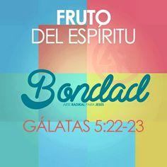 Gálatas 5:22-23 Mas el fruto del Espíritu es amor, gozo, paz, paciencia, benignidad, bondad, fe, mansedumbre, templanza; contra tales cosas no hay ley. ♔