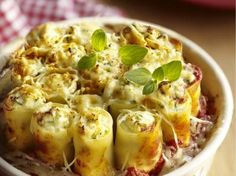 Vegetarische cannelloni (Libelle Lekker!)