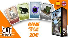 Cat People: A card game for 3 - 5 players full of kittens, hilarious situations and broken lives.