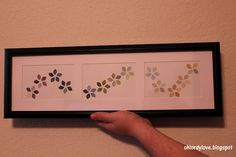 Paint chip art using Behr paint chip samples  What's that?  My next paint chip project- oh yes I think so!