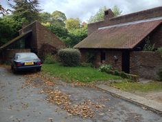 Lyde End, near Oxford. Seminal rural housing. Grade 2 listed.