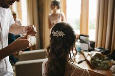 Bride headpieces and hairstyle.   Www.LeanLivingGirl.com
