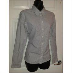 Designer JAEGER Ladies Smart Casual Office Work Long Sleeve Blouse