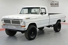 eBay: FORD F-250 HIGHBOY. RESTORED 4X4 3K MILES CALL 1-877-422-2940! FINANCING! WORLD WIDE SHIPPING. CONSIGNMENT.… #classiccars #cars Trucks For Sale, Cool Trucks, Ford 4x4, Ford Motor Company, Rigs, Dream Cars, Monster Trucks, Classic Cars, Wedges
