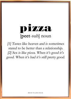 Pizza Definition