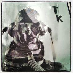 Terveet Kädet patsas statue (with images) · satyylavaara Punk, Statue, Halloween, Instagram Posts, Photography, Painting, Image, Art, Art Background