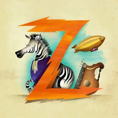 Z is for... Art Print by Dave Mottram's Store | Society6
