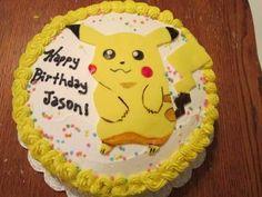 Pikachu Birthday Cake ideas