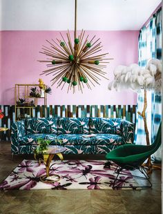 Colorful Modern Living Room | Living Room Ideas | Home Decor Ideas | Modern Sideboards | Luxury Furniture | Find more in www.bocadolobo.com/en