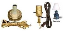 Lamp Making Parts and Supplies, Lamp Wiring Kits, Night Light Parts, Decorative Light Bulbs