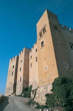 Castillo de Mequinenza, Zaragoza, España