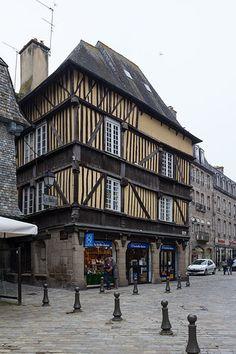 Maisons à colombage - Dinan (France)