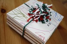 DIY Father's Day gifts from the kids: Color your own coasters   Sweeter Side of Mommyhood