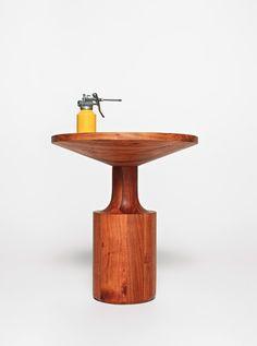 Rubber neckin? Turn Side Table.  Blu Dot 2013 Catalog. #moderntable