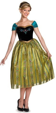 Frozen: Anna Coronation Deluxe Costume For Women from Buycostumes.com