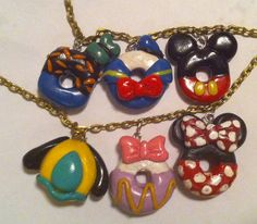 OMG! Adorable Mini Disney Donuts in Mickey and Minnie Mouse, Donald and Daisy Duck, Pluto and Goofy!