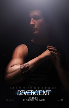 Official Divergent Movie Character Poster: Miles Teller as Peter
