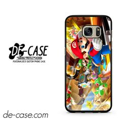 Mario Bross Game DEAL-6888 Samsung Phonecase Cover For Samsung Galaxy S7 / S7 Edge