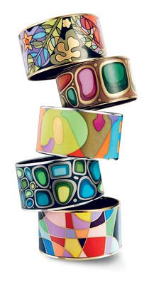 Bracelets | Frey Wille. Frey Wille is an enamel jewellery manufacturer based in Vienna, known for its artistically hand decorated designs that are based on the works of 19th and 20th century artists.