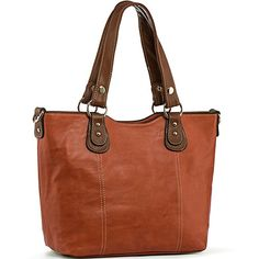 6ec51b708805 UTAKE Handbags for Women Top Handle Shoulder Bags PU Leather Tote Purse  Meduim Size Orange Fashion