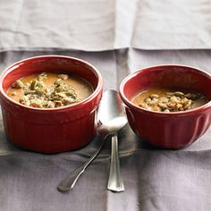 Baked Pumpkin Pudding | More healthy holiday recipes: http://www.bhg.com/thanksgiving/menu/light-thanksgiving-menu/#page=16 #myplate