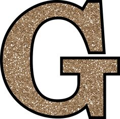Glitter Without The Glue! Free Digital Printable Alphabet to Download: Glitter Letter G To Print