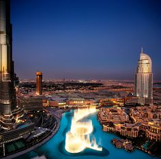 Dit zijn de spectaculairste fonteinen ter wereld - De Standaard Dubai Fountain