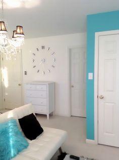 Teen Tiffany Co. Inspired Room, Teen Bedroom , Girls Rooms Design