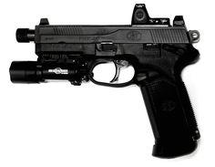 FNX-45 Tactical. I want this gun soooo bad!