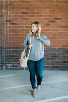 my basic fall uniform // by Kate Bryan at The Small Things Blog