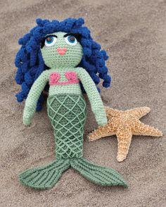 mermaid knit dolls | Category: Amigurumi Crochet Patterns – AllFreeCrochet.com – Free