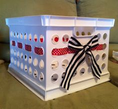 Turn-in crate.  Learned about this in my internship and I know it'll make grading easier!