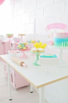 Dessert Table {Baking Party}