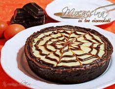 Mocaccina ai tre cioccolati una ricetta di crostata al cioccolato tratta dal libro di Ernest Knam ma con qualche variante personale