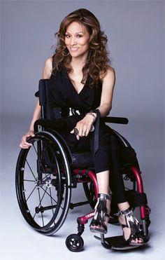 Angela Rockwood. Model, actress, and C4-5 quad.